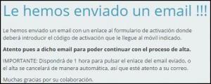 email confirmacion - concursales online